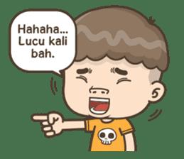 Togar si Anak Batak sticker #13559825