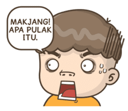 Togar si Anak Batak sticker #13559828