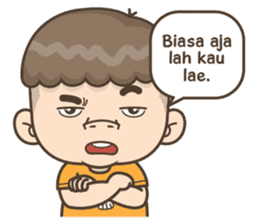Togar si Anak Batak sticker #13559829