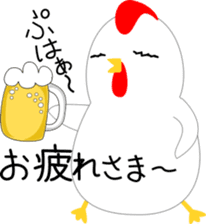 Sticker of chicken sticker #13564837