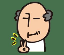 Grandpa KEN 4 sticker #13565222