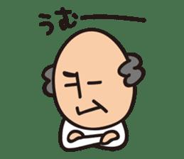 Grandpa KEN 4 sticker #13565224
