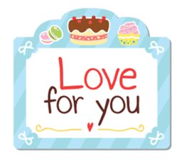Everyday tell love + sticker #13566890