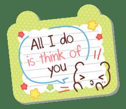 Everyday tell love + sticker #13566892