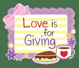 Everyday tell love + sticker #13566898