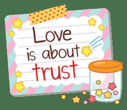 Everyday tell love + sticker #13566900