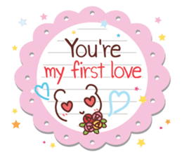 Everyday tell love + sticker #13566906