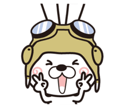 Non-verbal Strategy of rabbit Corps. sticker #13580370