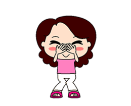Mommy dance sticker #13580682