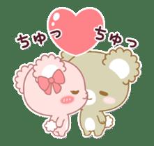 Sugar Cubs Love animation sticker #13581951
