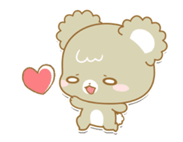 Sugar Cubs Love animation sticker #13581956