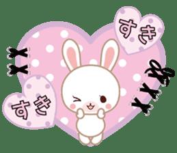Lovey-Dovey bunnies Rai & Mai sticker #13582118