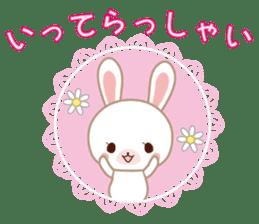 Lovey-Dovey bunnies Rai & Mai sticker #13582120