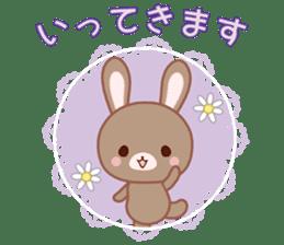 Lovey-Dovey bunnies Rai & Mai sticker #13582121