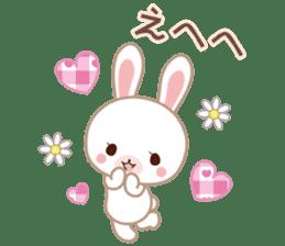 Lovey-Dovey bunnies Rai & Mai sticker #13582123