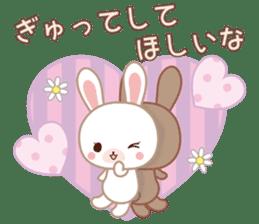 Lovey-Dovey bunnies Rai & Mai sticker #13582126