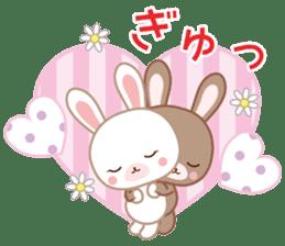 Lovey-Dovey bunnies Rai & Mai sticker #13582127