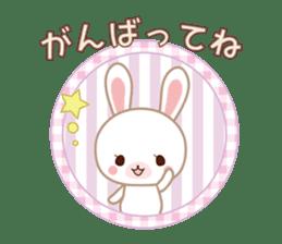 Lovey-Dovey bunnies Rai & Mai sticker #13582130