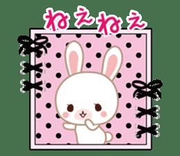 Lovey-Dovey bunnies Rai & Mai sticker #13582132
