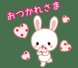 Lovey-Dovey bunnies Rai & Mai sticker #13582136