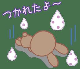 Lovey-Dovey bunnies Rai & Mai sticker #13582137