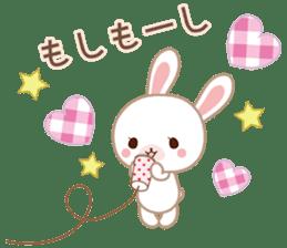 Lovey-Dovey bunnies Rai & Mai sticker #13582138