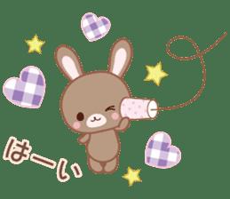 Lovey-Dovey bunnies Rai & Mai sticker #13582139
