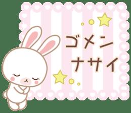 Lovey-Dovey bunnies Rai & Mai sticker #13582140