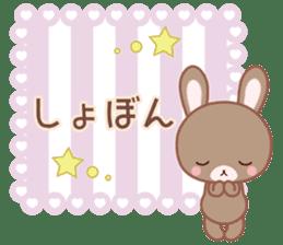 Lovey-Dovey bunnies Rai & Mai sticker #13582141