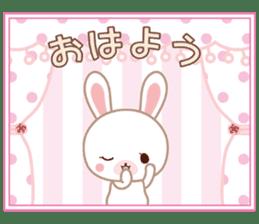 Lovey-Dovey bunnies Rai & Mai sticker #13582142