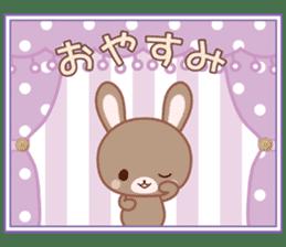Lovey-Dovey bunnies Rai & Mai sticker #13582143