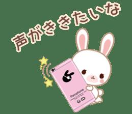 Lovey-Dovey bunnies Rai & Mai sticker #13582144