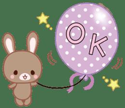 Lovey-Dovey bunnies Rai & Mai sticker #13582147