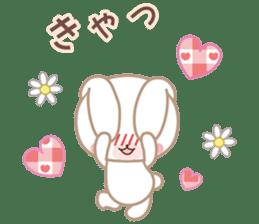 Lovey-Dovey bunnies Rai & Mai sticker #13582149