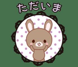 Lovey-Dovey bunnies Rai & Mai sticker #13582150