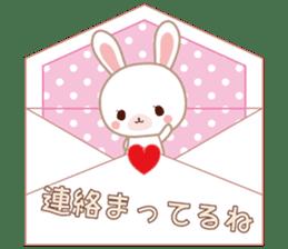 Lovey-Dovey bunnies Rai & Mai sticker #13582152