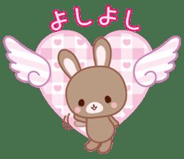 Lovey-Dovey bunnies Rai & Mai sticker #13582155