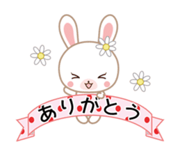 Lovey-Dovey bunnies Rai & Mai sticker #13582156