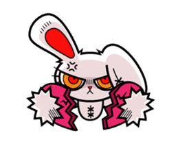 BLOODY BUNNY ANIMATED sticker #13583547