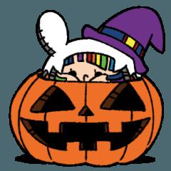Halloween of cute girl