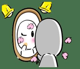 chu chu white II sticker #13592745