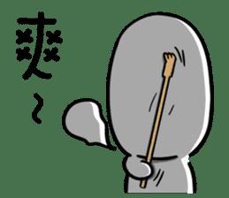 chu chu white II sticker #13592760