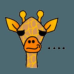 boring giraffe