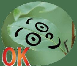 Chatting leaves sticker #13599074