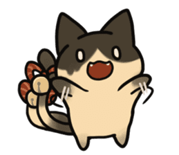 nekomata no osumituki sticker #13603854