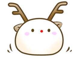 MotchiriDaifuku2 sticker #13617006