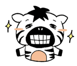 Zebra A-ban sticker #13621321