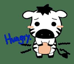 Zebra A-ban sticker #13621322