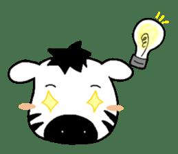 Zebra A-ban sticker #13621328