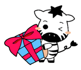 Zebra A-ban sticker #13621330